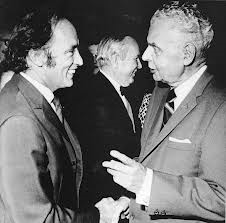 Trudeua and Diefenbaker