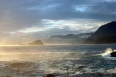 Pacific Ocean coastline, Morseby Island, British Columbia, Canada
