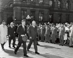 Kennedy in Ottawa..