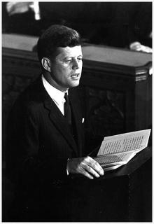 Imagine a Man Like John F. Kennedy